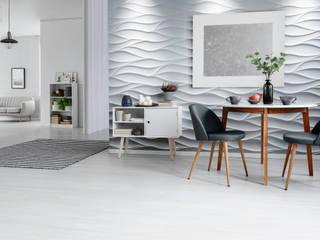 Modne panele ścienne z efektem 3D - idealne wykończenie każdego nowoczesnego wnętrza od Loft Design System Nowoczesny