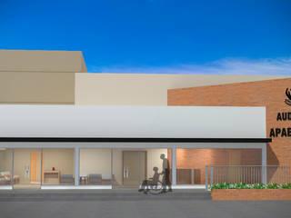 Casas modernas de Fávero Arquitetura + Interiores Moderno