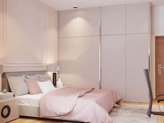 Villa at Kannakpura Modern Bedroom by De Panache - Interior Architects Modern