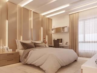 Electronic City Villa Modern Bedroom by De Panache - Interior Architects Modern