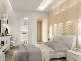 Mysore Sankalp Central Park Modern Bedroom by De Panache - Interior Architects Modern
