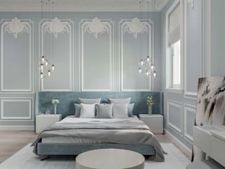 Prestige Ferns Residency 2 Classic style bedroom by De Panache - Interior Architects Classic