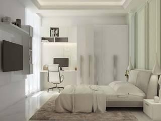 Sobha Indraparastha Modern Bedroom by De Panache - Interior Architects Modern
