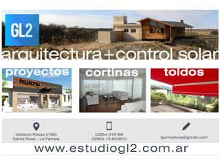 Casas de GL2 Arquitectura y Control Solar Moderno