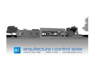 Casas de GL2 Arquitectura y Control Solar Minimalista