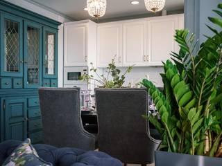 Элит интерьер и ландшафт Built-in kitchens MDF White