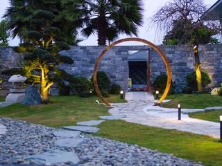 Thiết Kế Sân Vườn Nhật Zen'flowe bởi SGL LANDSCAPE ARCHITECTURE CO.,LTD Châu Á