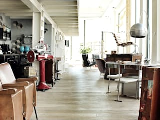 Industrial style offices & stores by viemme61 Industrial