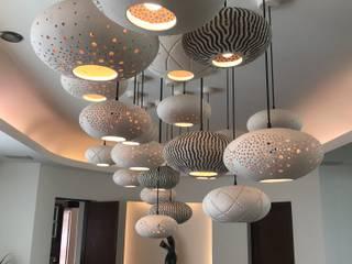 Lámparas de techo Takto Design ComedorIluminación Cerámica Beige