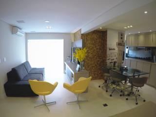 Ruang Keluarga Modern Oleh Mazorra Studio Modern