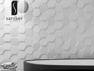 Saniker Minimalist bars & clubs Ceramic White