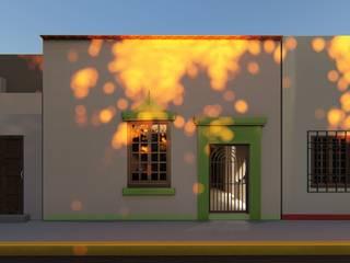 CASA SAN LUIS 322 Casas eclécticas de RUBIO + TOVAR ARQUITECTOS Ecléctico