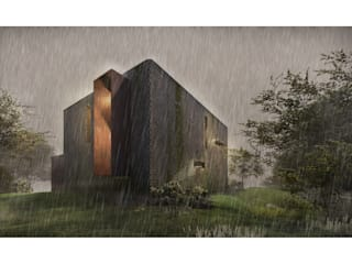 Casa CL: Casas de estilo  por Zenobia Architecture, Moderno