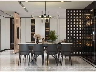 Thiết kế nội thất căn hộ chung cư Diamond Thiết Kế Nội Thất - ARTBOX Dining roomTables