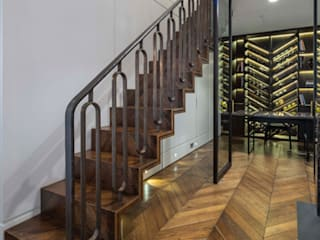 6728 - Feature Staircase by Bisca Staircases Modern
