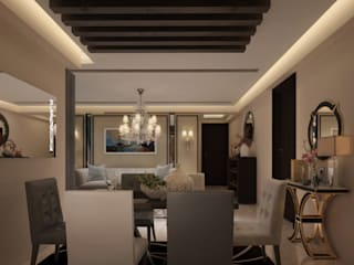 Residential Space Classic style dining room by Crystaspace Classic