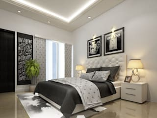 Residential Space Classic style bedroom by Crystaspace Classic