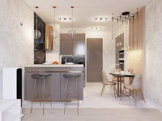 Современная квартира:  в современный. Автор – Studio GID, Модерн