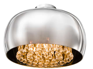 Exclusive pendant light BURN with crystals Sala da pranzo moderna di Luxury Chandelier Moderno