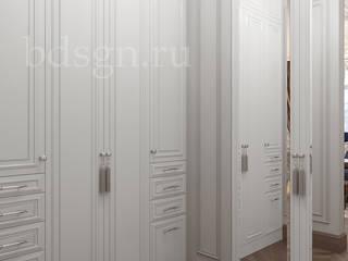 Прихожая и коридоры в коттедже : Гардеробные в . Автор – Дизайн студия 'Дизайнер интерьера № 1',