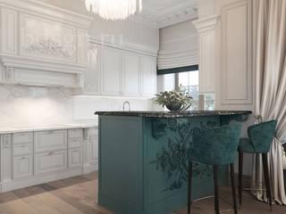 Кухня в классическом стиле : Кухни в . Автор – Дизайн студия 'Дизайнер интерьера № 1',