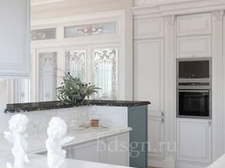 Cocinas de estilo  por Дизайн студия 'Дизайнер интерьера № 1'