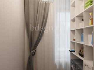 Pasillos y recibidores de estilo  por Дизайн студия 'Дизайнер интерьера № 1'
