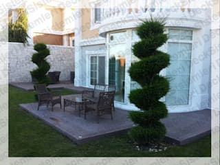 Jardins modernos por Deck Sistemleri Moderno