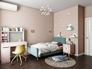 «Студия 3.14» Country style nursery/kids room