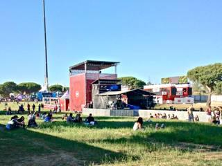 SBSR 2012 / 2013: Locais de eventos  por Greenchallenge,