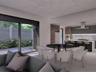 Casa IV Comedores minimalistas de KAD Arquitectos Minimalista