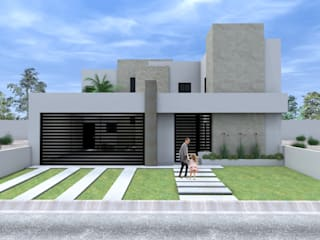 Casa San Felipe: Casas de estilo  por SPA Arquitectos,