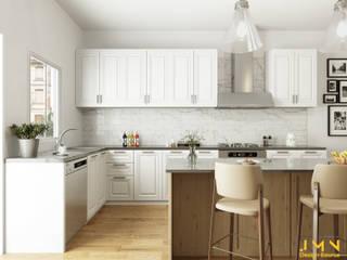3D Kitchen Rendering :   by JMN design source,