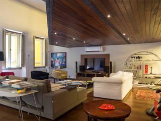 JOSE DIAZ FOTOGRAFIA Modern Living Room Wood Wood effect