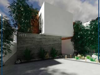 Green Sky: Casas de estilo  por FORMA Arquitectura Integral,