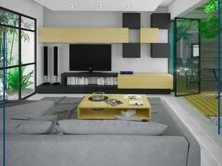 Green Sky: Salas de estilo  por FORMA Arquitectura Integral,