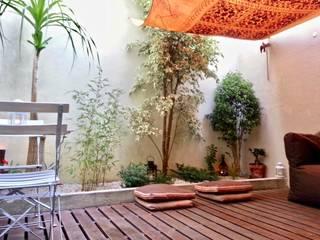 Reabilitação de pátio Varandas, marquises e terraços mediterrânicos por Greenchallenge Mediterrânico
