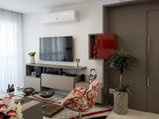 JOSE DIAZ FOTOGRAFIA Modern Living Room Grey