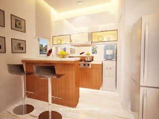 Private Residence: Dapur built in oleh ADEA Studio, Modern