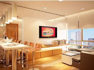 Sahid Sudirman Residence: Ruang Keluarga oleh ADEA Studio,