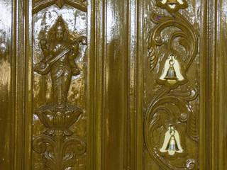 Mr. Easwaran's Apartment @ Chrompet:   by Ajith interiors,