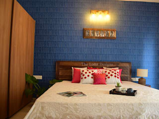 House with the Blue Door:  Bedroom by The Lofte Designs,