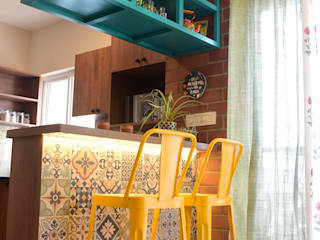 House with the Blue Door Industrial style kitchen by The Lofte Designs Industrial