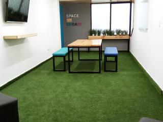 Diseño de area de bienestar clay s.a:  de estilo  por Magrev - Diseño y construcción de espacios.,