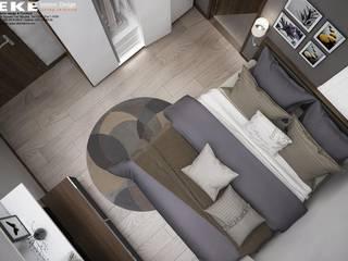 Thiết kế nội thất nhà phố Bình Thạnh diện tích 240m2: hiện đại  by EKE Interior, Hiện đại