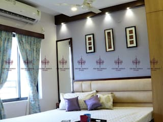 Mr. Alex Home Interior Design:  Small bedroom by CeeBee Design Studio,