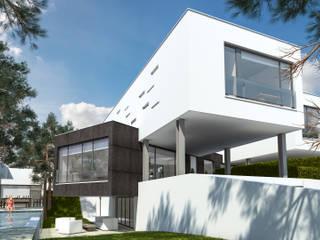 Casas em Vale Boeiro | Seixal por andré cordeiro 3D VISUALISER