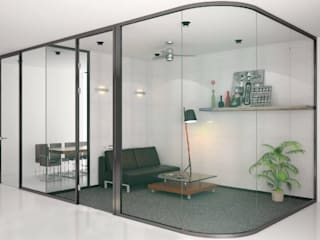 OR DESIGN Edificios de oficinas Vidrio