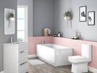 Baños de estilo  por Bathroom Takeaway, Escandinavo