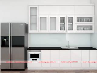 Combo mẫu tủ bếp gia đình chữ I giá từ 20 triệu đồng bởi Nội thất Nguyễn Kim